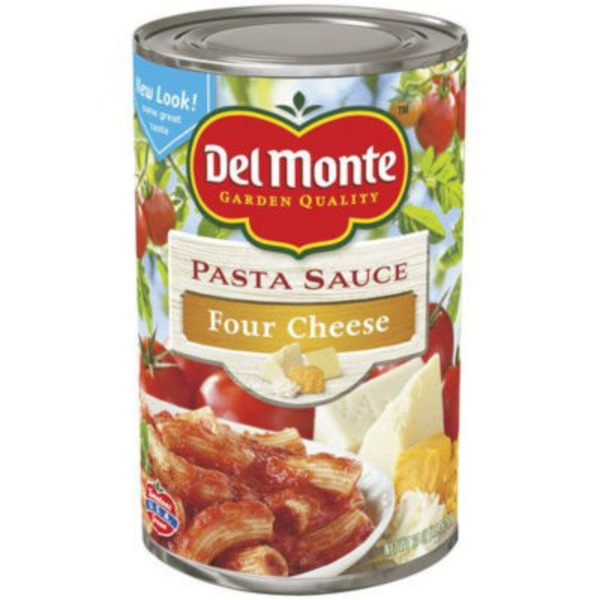 Del Monte Four Cheese Pasta Sauce