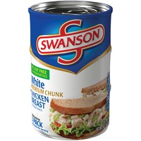 Swanson's White Premium Chunk Chicken Breast with Rib Meat in Water