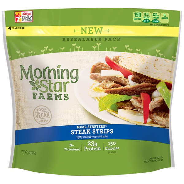 Morning Star Farms Meal Starters Veggie Steak Strips