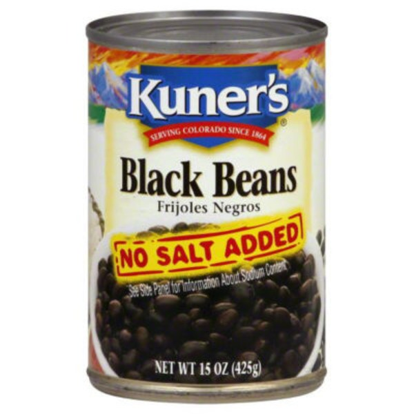 Kuners Black Beans, Can