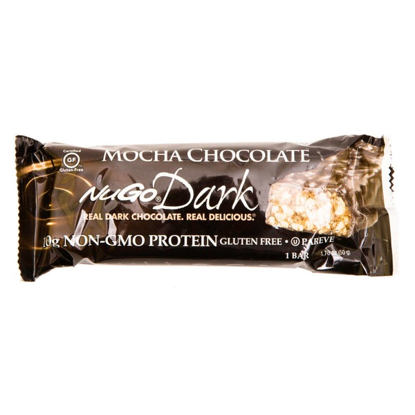 NuGo Mocha Chocolate Protein Bar