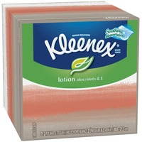 Kleenex Lotion Aloe & E Facial Tissues