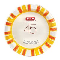 H-E-B Big Sky 8.5 Inch Heavy Duty Plates