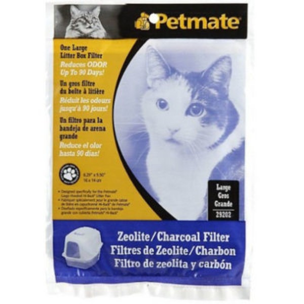 Petmate Large Zeolite Litter Box Filter 6.3