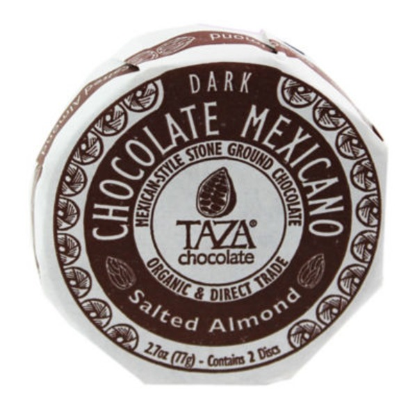 Taza Salted Almond Chocolate Mexicano Classic Disc