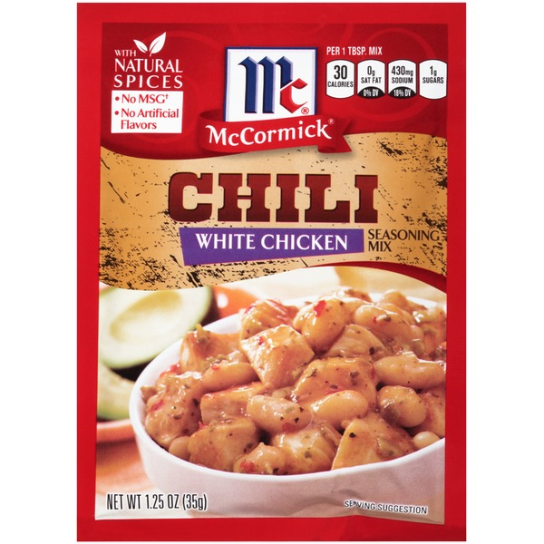 McCormick Chili White Chicken Seasoning Mix