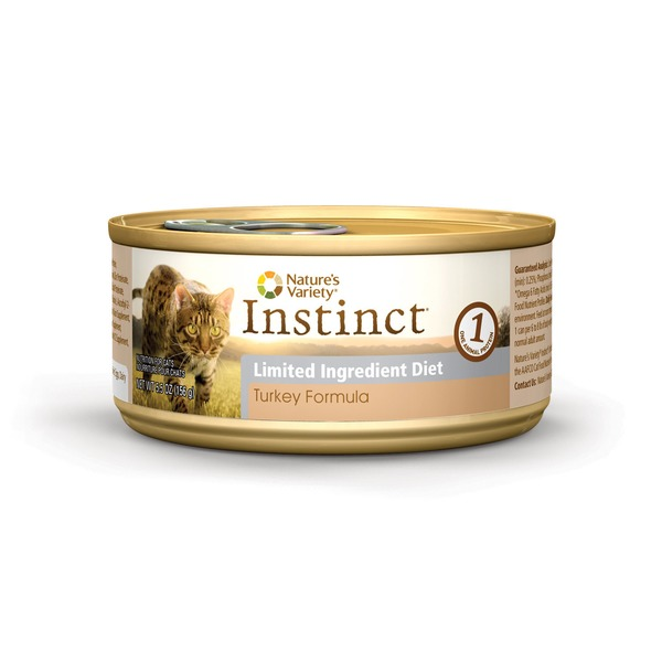 Nature's Variety Instinct Limited Ingredient Diet Turkey Formula Cat Food