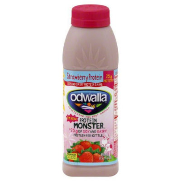 Odwalla Soy and Dairy Strawberry Protein Shake