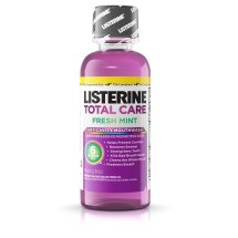 Listerine Total Care Anticavity Mouthwash-Fresh Mint-3.2 Oz