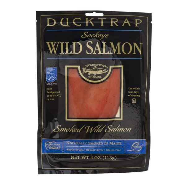 Ducktrap River of Maine Smoked Wild Sockeye Salmon
