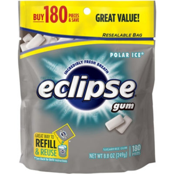 Wrigley Eclipse Polar Ice Sugarfree Gum Refill