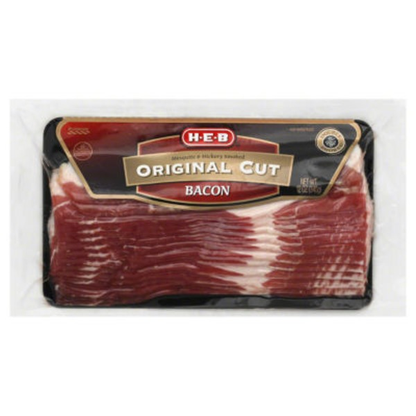 H-E-B Original Cut Bacon