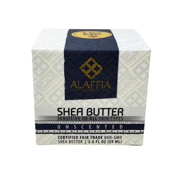 Alaffia Handcrafted Unscented Shea Butter