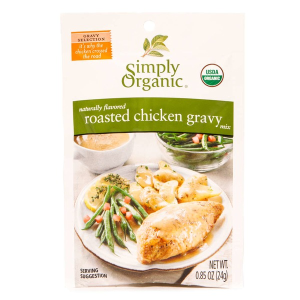 Simply Organic Chicken Gravy Mix
