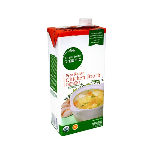 Simple Truth Organic Fat Free Free Range Chicken Broth