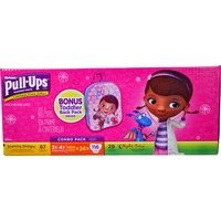 Huggies Girl's 2T-3T Learning Designs + Night Time Pull Ups Combo Pack
