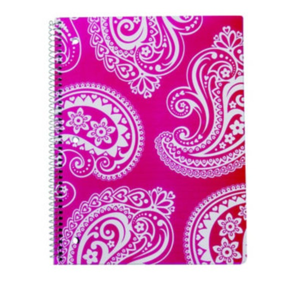 CPP International Driving Miss Paisley Spiral Notebook, Colors May Vary