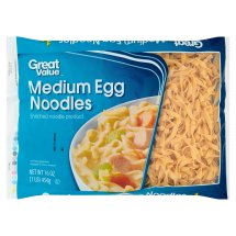 Great Value Medium Egg Noodles, 16 oz