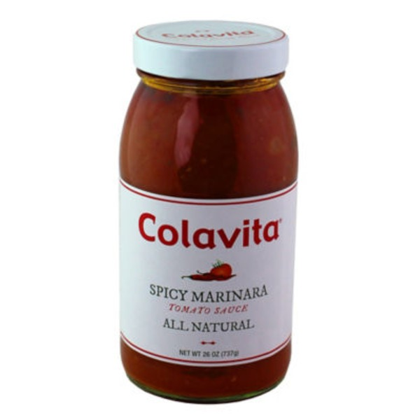 Colavita All Natural Tomato Sauce Spicy Marinara