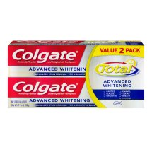 Colgate Total Advanced Whitening Toothpaste, 5.8 oz (Pack of 2)