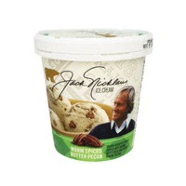 Jack Nicklaus Ice Cream Warm Spiced Butter Pecan