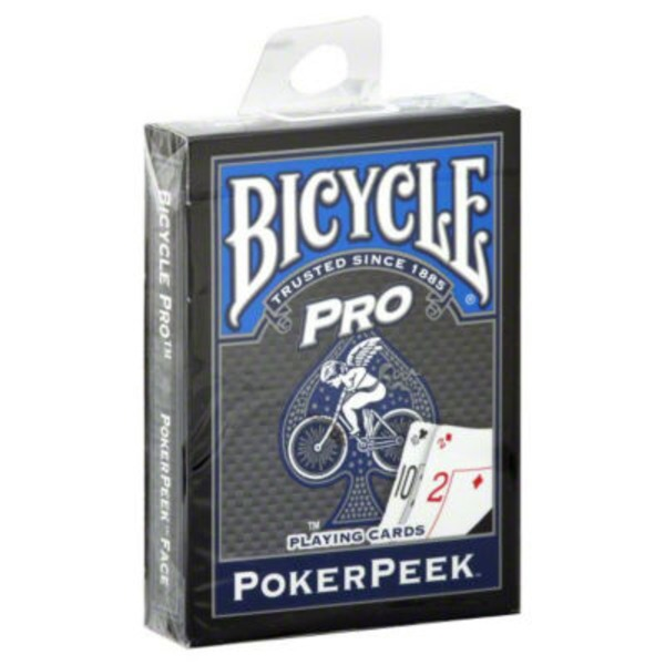 Bicycle Poker Peek Playing Cards