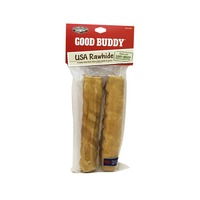 Castor & Pollux Good Buddy 7 Inch Grass Fed Beef USA Rawhide Dog Chew