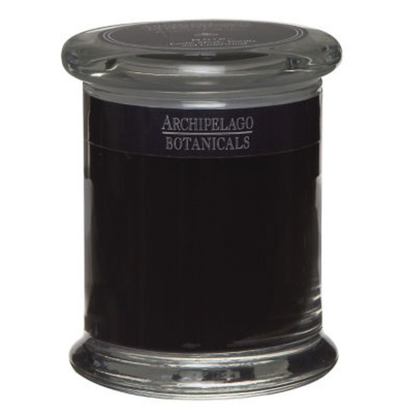 Archipelago Botanicals Black Candle Glass Jar