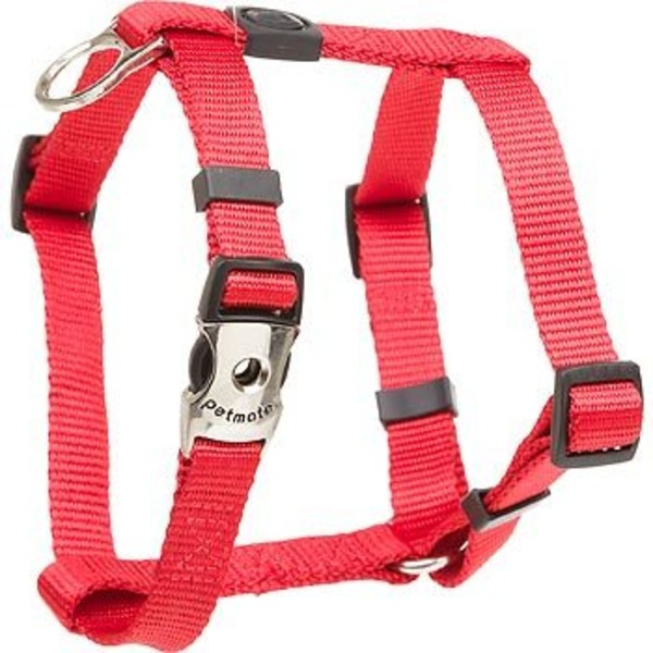 Petco Petmates Fire Red Deluxe Signature Nylon Dog Harness