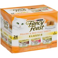 Fancy Feast Classic Poultry & Beef Feast Variety Cat Food