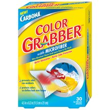 Carbona Color Grabber with Microfiber In-Wash Sheets