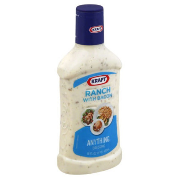 Kraft Salad Dressing Ranch with Bacon Dressing