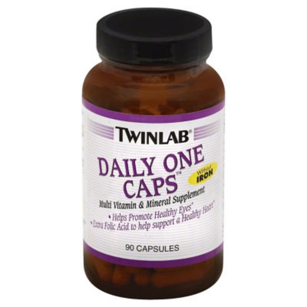 Twinlab Daily One Caps Multi Vitamin & Mineral Supplement Capsules - 90 CT