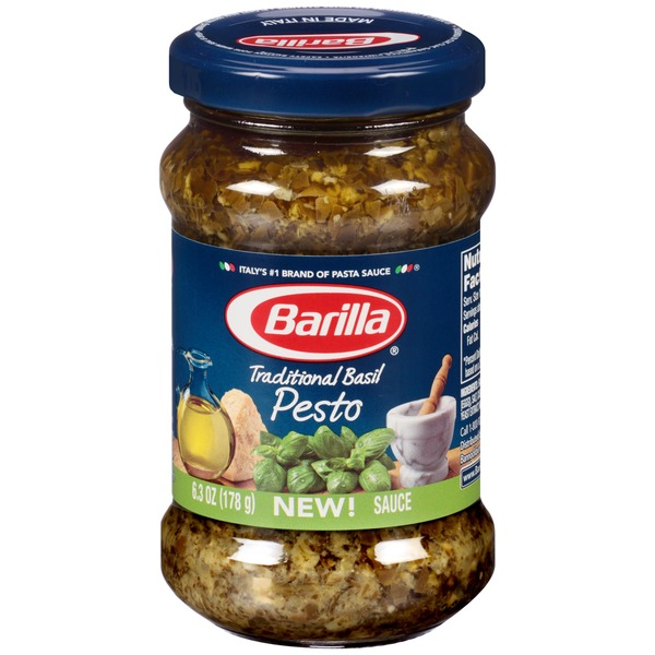 Barilla Sauces Traditional Basil Pesto