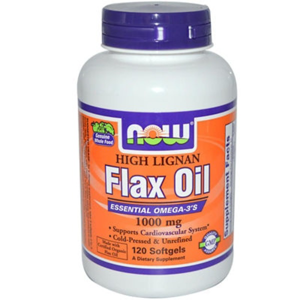 Now High Lignan Flax Oil