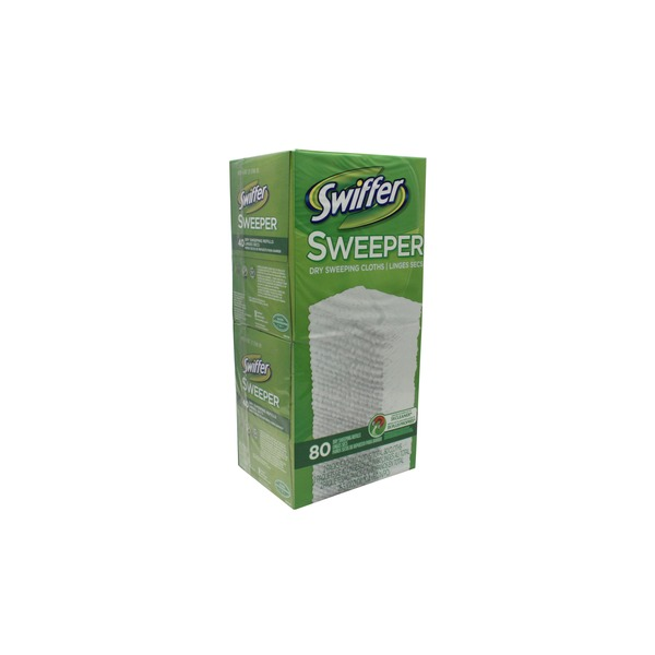 Swiffer Dry Sweeping Pad Refills, Unscented