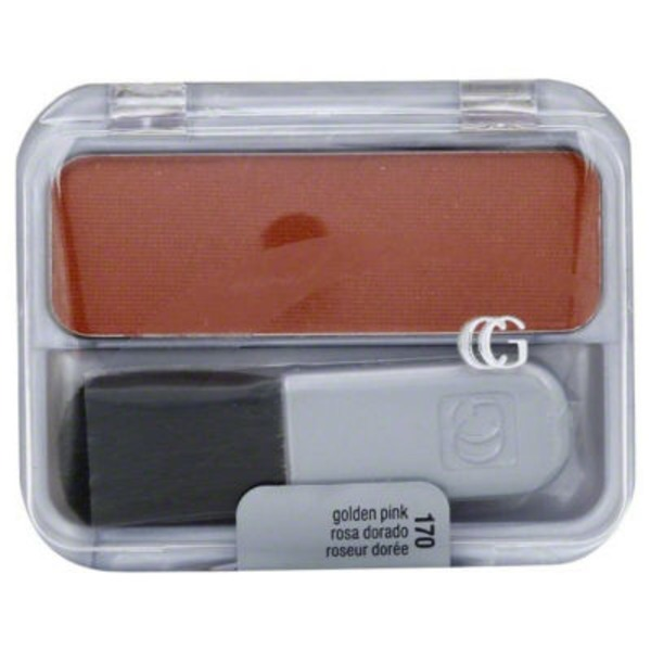 CoverGirl Cheekers COVERGIRL Cheekers Blendable Powder Blush, Golden Pink .12 oz (3 g) Female Cosmetics