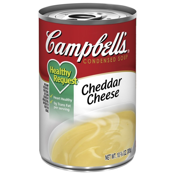 Campbell's Healthy Request Healthy Request Cheddar Cheese Condensed Soup