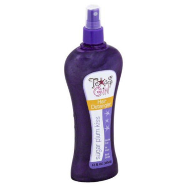 Texas Girl Sugar Plum Kiss Hair Detangler