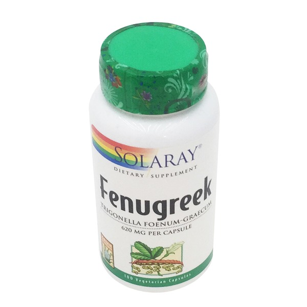 Solaray Fenugreek 620 mg Capsules