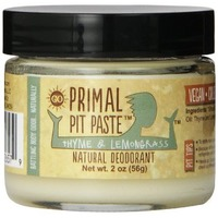 Primal Pit Paste Thyme And Lemongrass Natural Deodorant