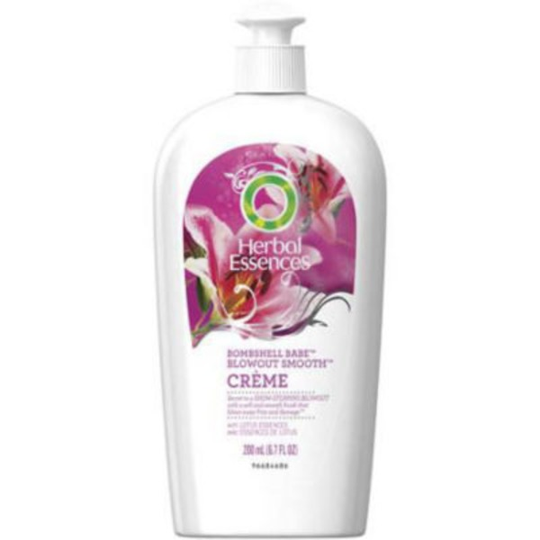 Herbal Essences Blowout Smooth Herbal Essences Bombshell Babe Blowout Smooth Crème 6.7 FL OZ  Female Hair Care
