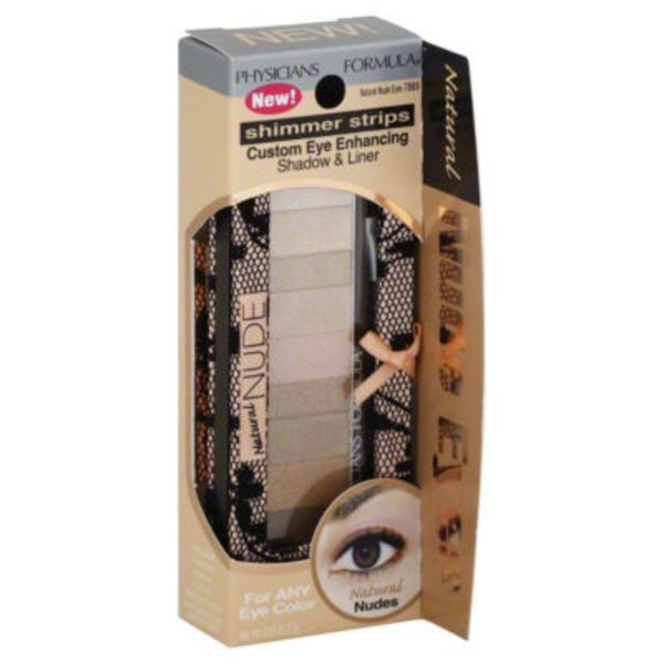 Shimmer Strips 7869 Natural Nude Eyes Custom Eye Enhancing Shadow & Liner