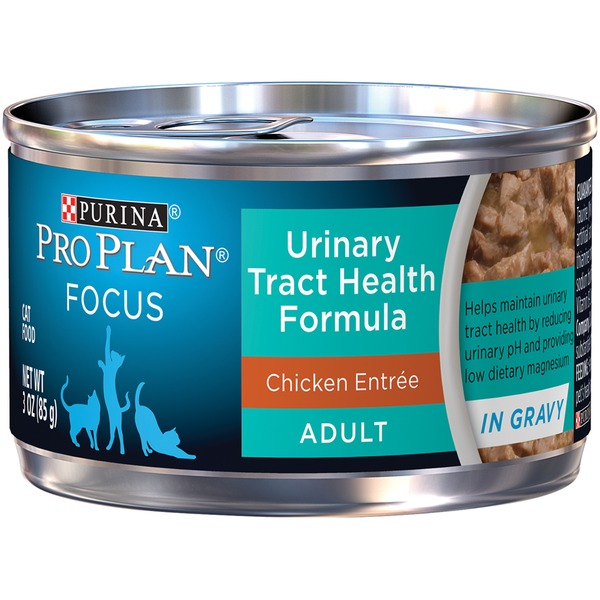 Pro Plan Cat Wet Focus Adult Urinary Tract Health Formula Chicken Entree in Gravy Cat Food