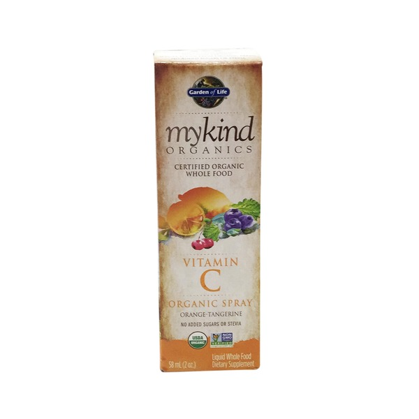 Garden of Life My Kind Organics Orange Vitamin C Spray