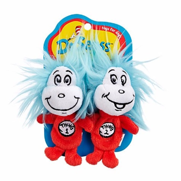 Dr. Seuss Thing 1 & Thing 2 Toy For Dogs Small