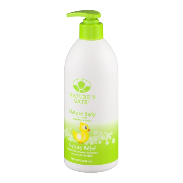 Nature's Gate Nature Baby Vegan Shampoo & Wash