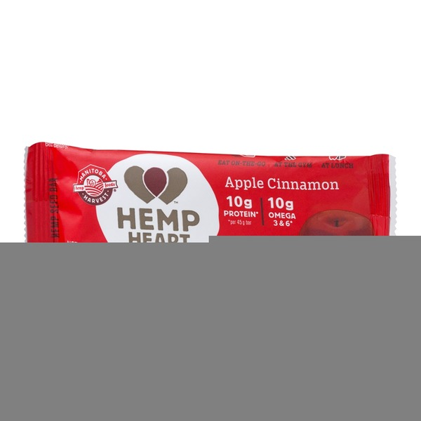 Manitoba Harvest Manitoba Hemp Heart Bar Apple Cinnamon