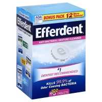 Efferdent Denture Cleanser Anti-Bacterial Tablets