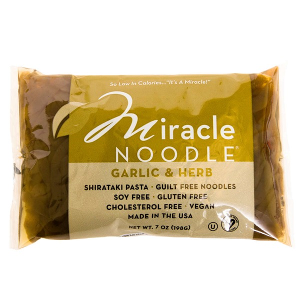 Miracle Noodle Garlic & Herb Shirataki Pasta